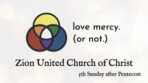 Love Mercy. Or Not.