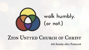 Walk Humbly. Or Not.