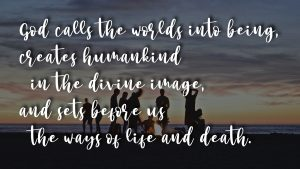God Calls: creation
