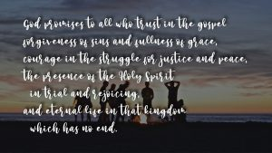 God Promise: grace and courage
